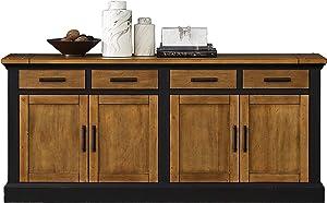 Martin Furniture Storage Credenza, Brown