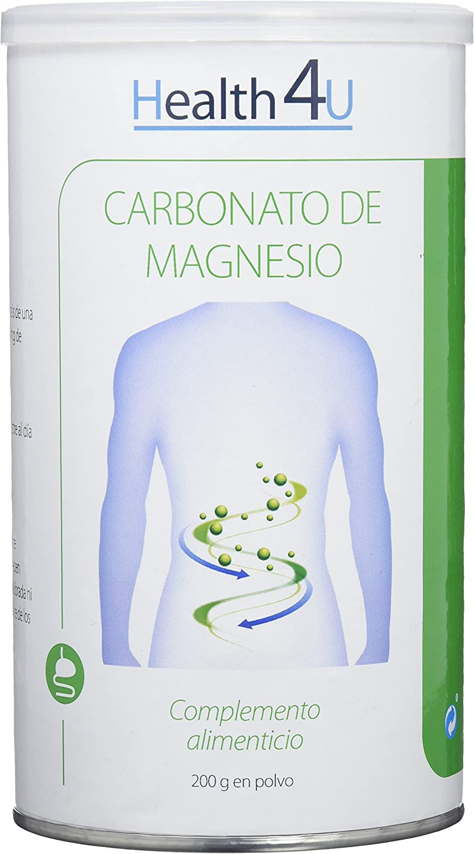 H4U Carbonato de Magnesio - 200 gr: Amazon.es: Salud y cuidado ...