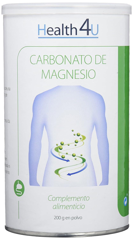 H4U - H4U Carbonato de Magnesio 200 gr en polvo: Amazon.es ...