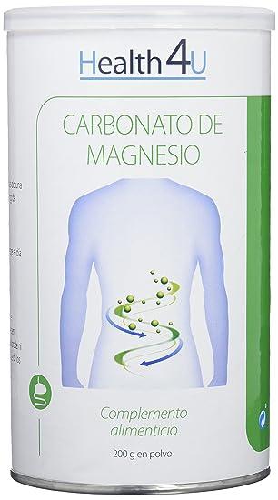 H4U - H4U Carbonato de Magnesio 200 gr en polvo: Amazon.es: Salud y cuidado personal