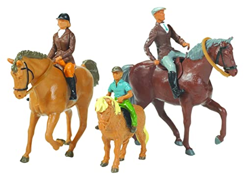 Britains 1:32 Replica Horse and Riders Collectable Farm Toy