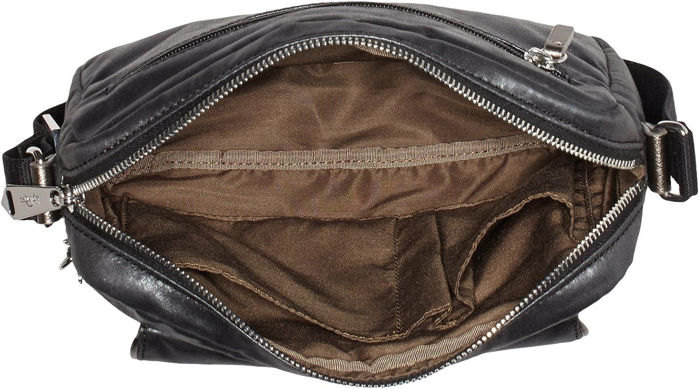 Kipling Women's Merissa Cross-Body Bag Black (Night Metal)