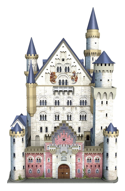 Ravensburger 12573 – Schloss Neuschwanstein, 3D Puzzle-Bauwerke, 216 ...