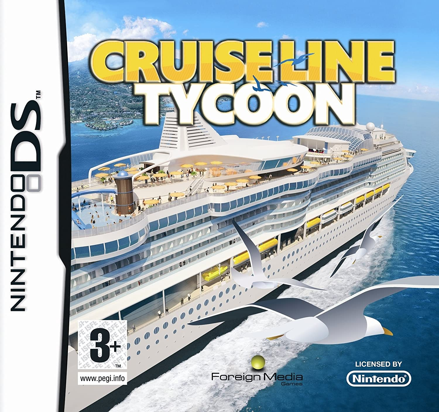 Cruise Ship Tycoon Nintendo DS Amazoncouk PC Video Games - Cruise ship tycoon