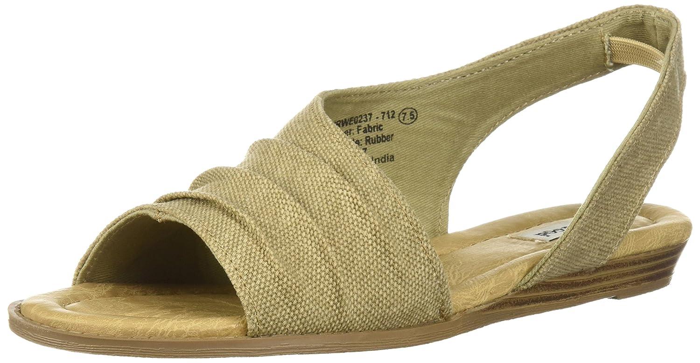 Not Rated Women's Shantelle Wedge Sandal B0771QMS7L 8.5 B(M) US Sand