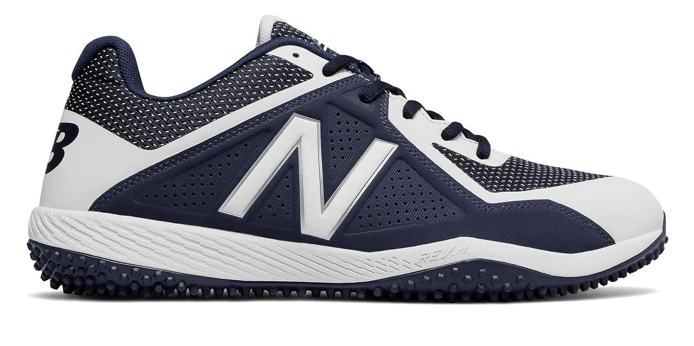 (ニューバランス) New Balance 靴シューズ メンズ野球 Turf 4040v4 Navy with White ネイビー ホワイト US 16 (34cm) B073YL5QF2