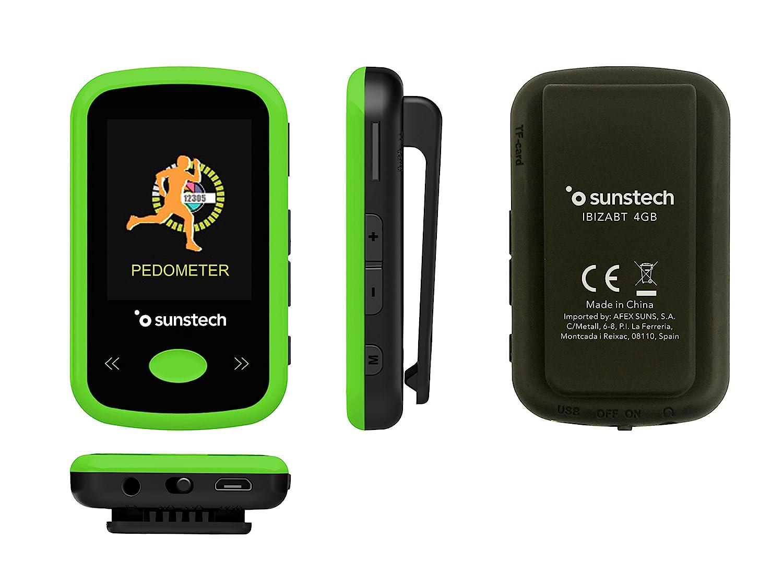 Sunstech IBIZABT - Reproductor MP4, Color Verde: Amazon.es ...