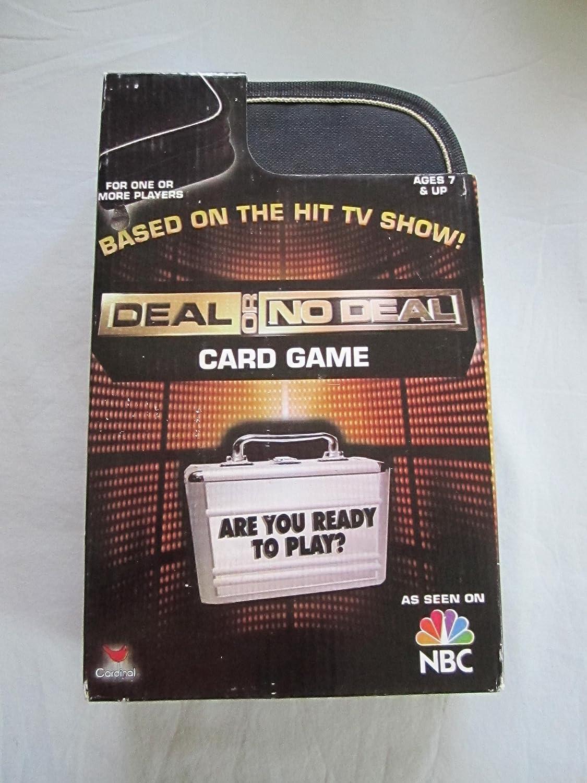 Barato 2007 NBC Deal or No Deal Card Game