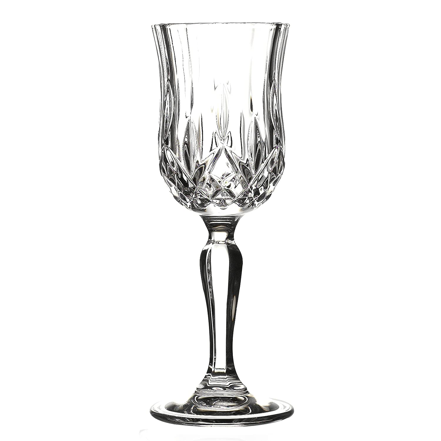 Lorren Home Trends Opera Liquor Glass Set (Set of 6), Clear 237990