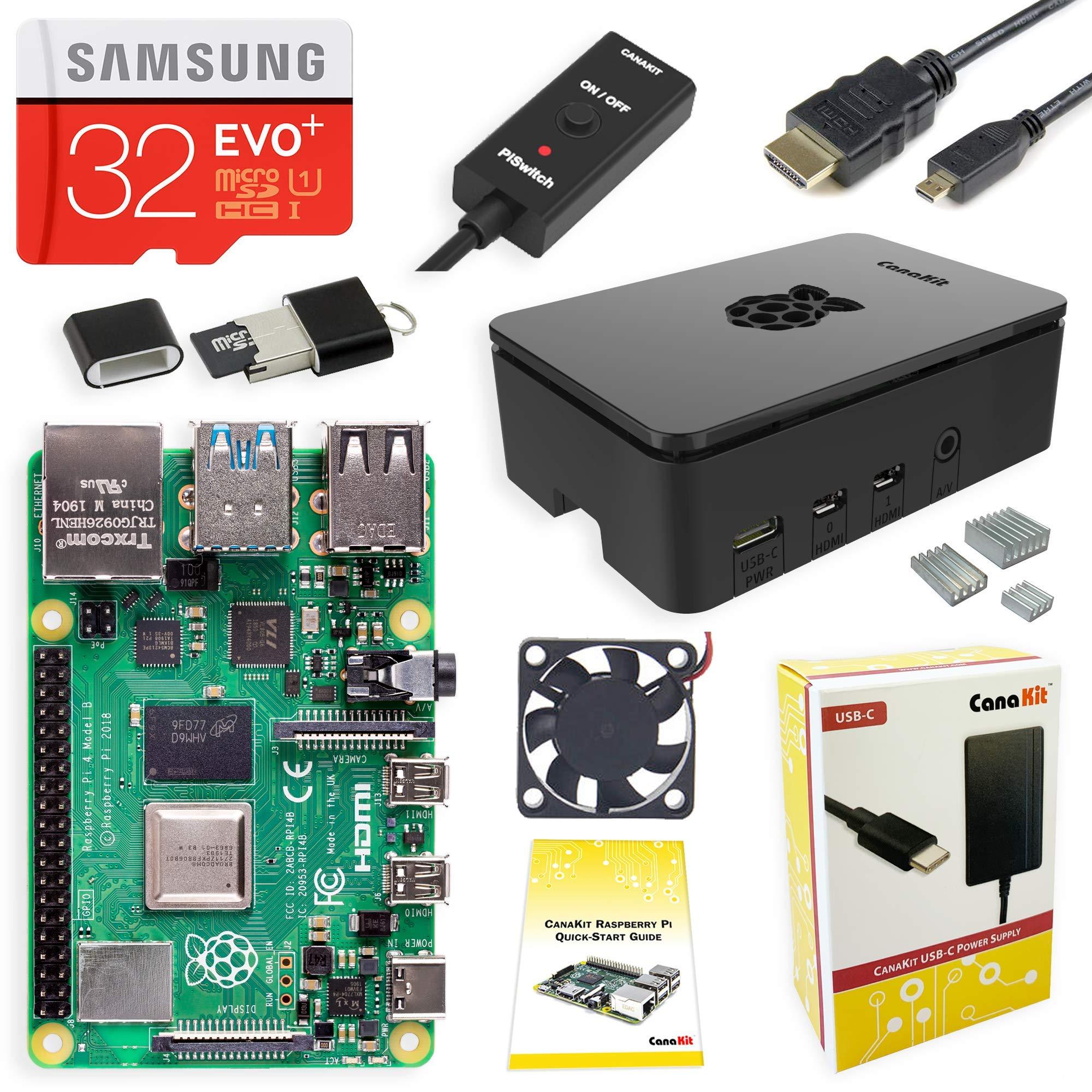 CanaKit Raspberry Pi 4 4GB Starter Kit - 4GB RAM by CanaKit