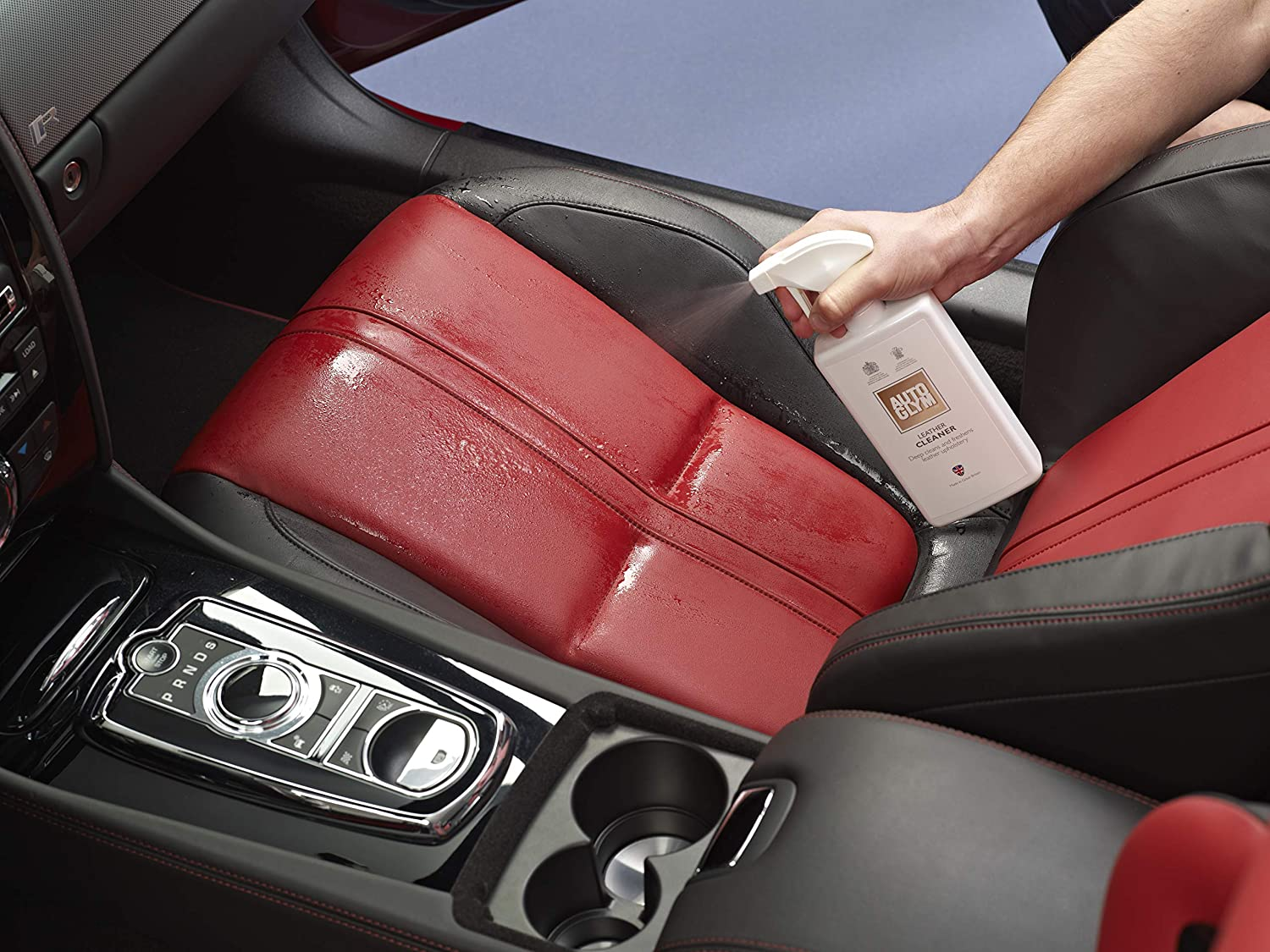 Car Leather Cleaner >> Autoglym Leather Cleaner 500ml