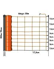 Eider Primus Schafnetz in 90cm / 108 cm (1 Spitz und 2 Spitz) 50 m lang - Agilitynetz in Top Qualität