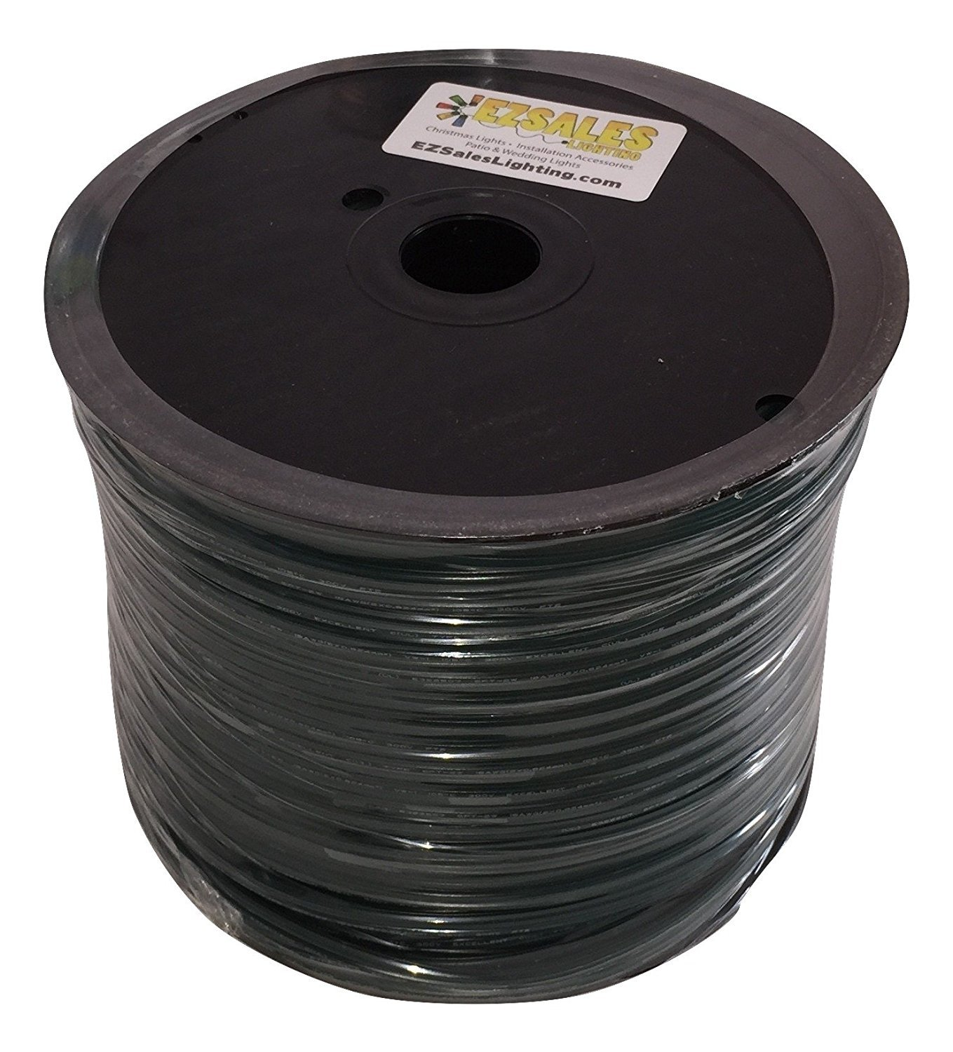 SPT-2 Green Wire 500\' Spool by EZLS - Electrical Wires - Amazon.com