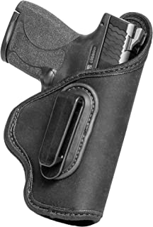 product image for IWB Universal Holster w/Belt Clip (Grip Tuck) by Alien Gear for 1911, S&W Shield, and Sig P320 P365 Plus All similarly Sized Handguns Based on Barrel Length