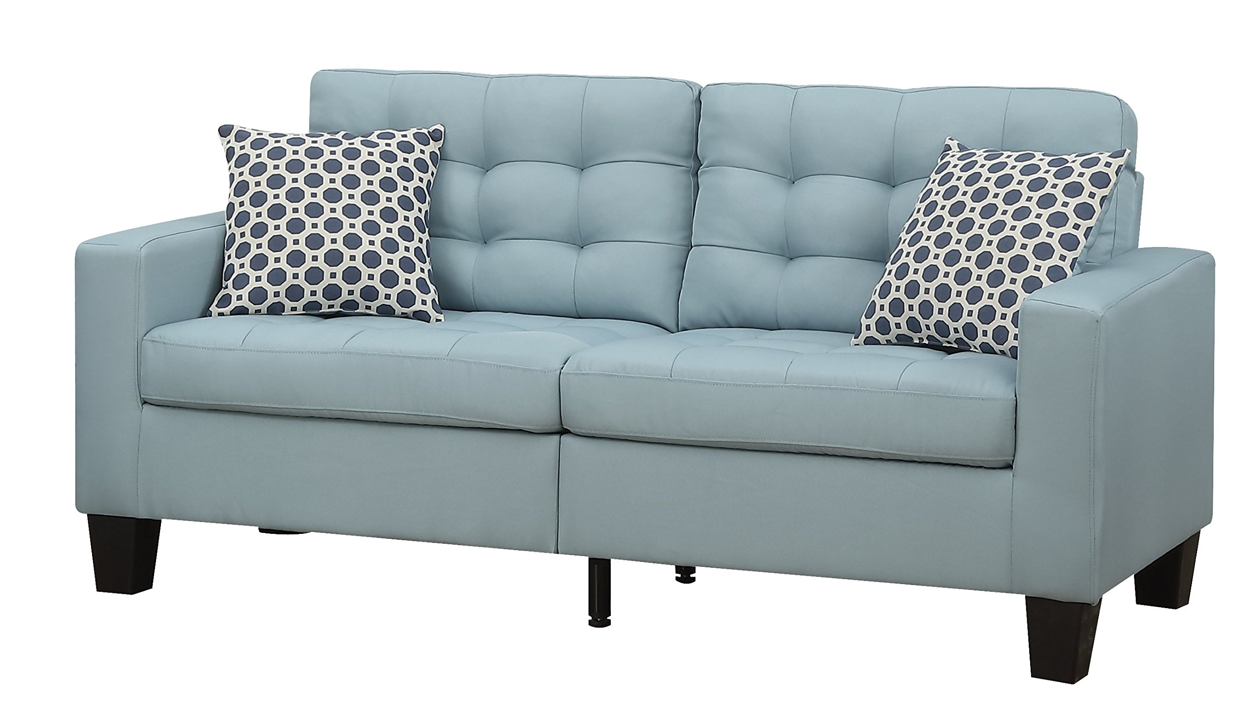Furniture World Aston Sofa, Turquoise