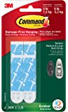 Command Outdoor Foam Strip Refills, White, 4-Medium and 2-Large Strips (17615AW-ES)