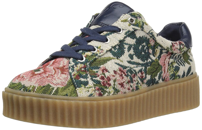 The Fix Women's Tanner Creeper Fashion Sneaker B01NC093J4 7 B(M) US|Natural Multi