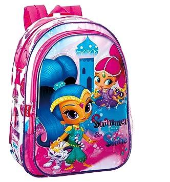 Shimmer & Shine Mochila Infantil Escolar, niña