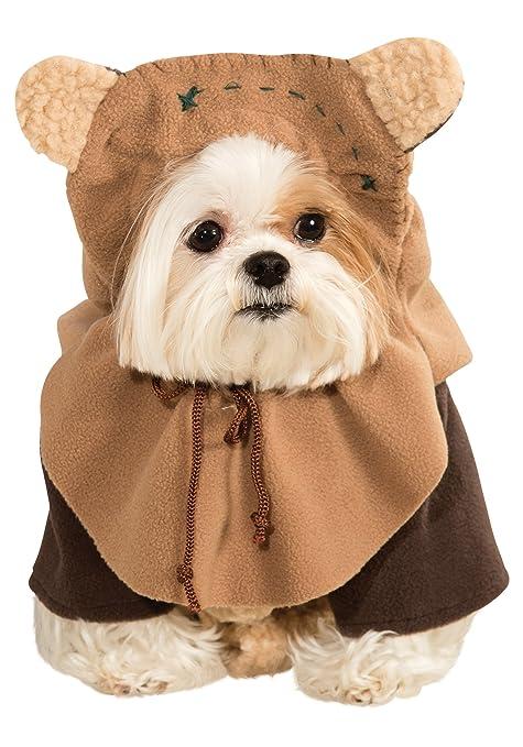Disfraz de ewok para perro, de Star Wars: Amazon.es ...