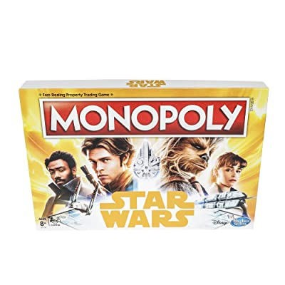 Monopoly Game: Star Wars Edition: Hasbro: Toys & Games