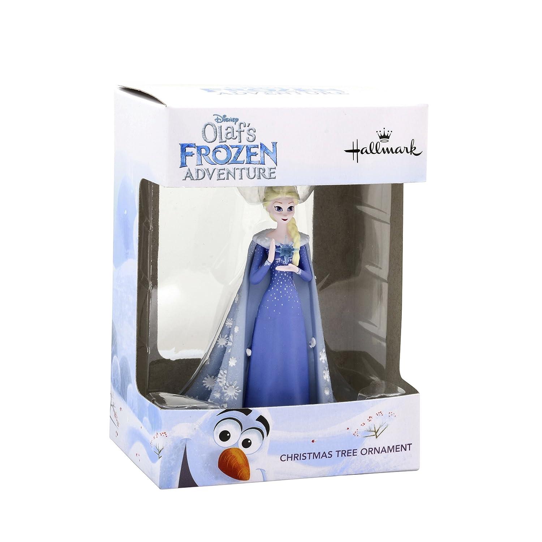 Amazon.com: Hallmark Christmas Ornament Disney Olaf Frozen Adventure ...