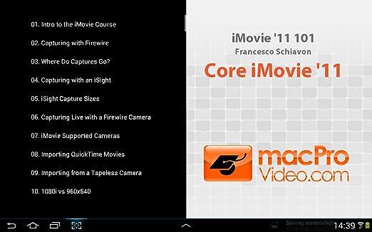 iMovie '11 101