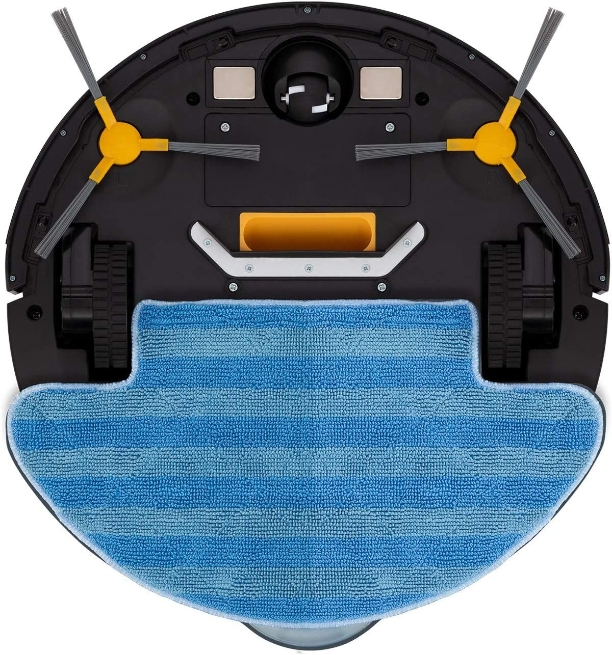 Barre navegaci/ón Inteligente programable Pasa la mopa y friega el Suelo autom/ático Carga IKOHS NETBOT S12 Robot Aspirador 4 en 1 aspira para Suelos Duros y alfombras Especial Mascotas