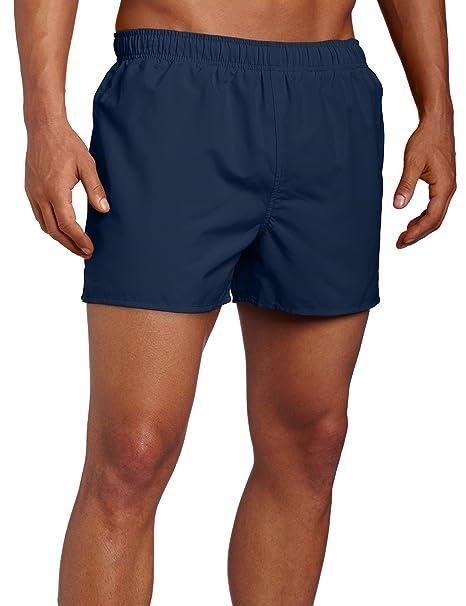 c2914e80b6 Amazon.com: Speedo Surf Runner Volley Swim Trunks, Navy, Small: Sports &  Outdoors
