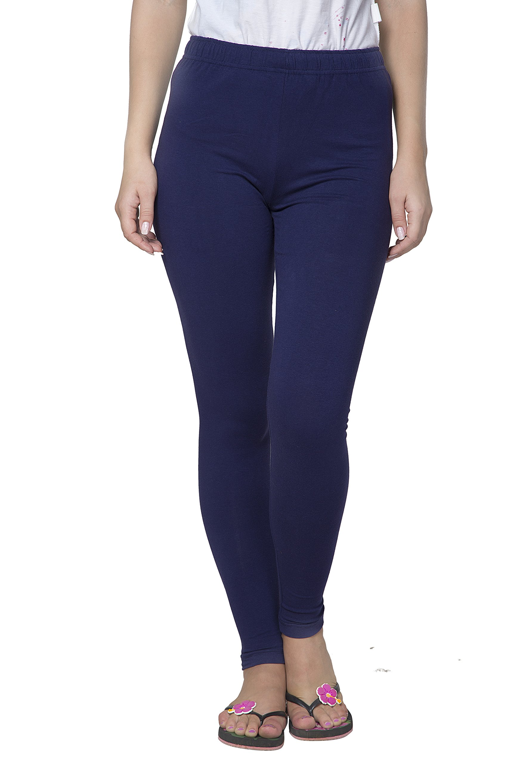 Clifton Women's Cotton Spandex Fine Jersey Leggings Pack Of 4-Assorted-2-XL by Clifton (Image #6)