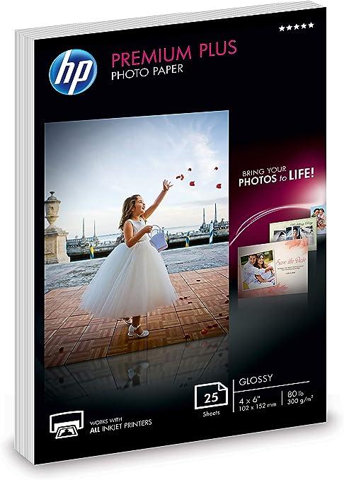 Amazon.com: HP - Papel fotográfico brillante de 4 x 6 ...