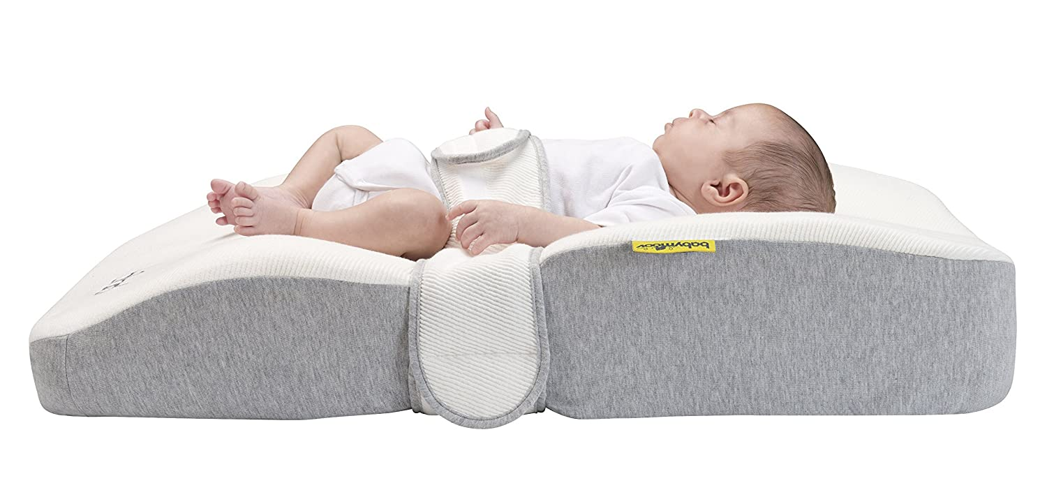 BABYMOOV Bibed Baby Mattress (Smokey Grey) A050009