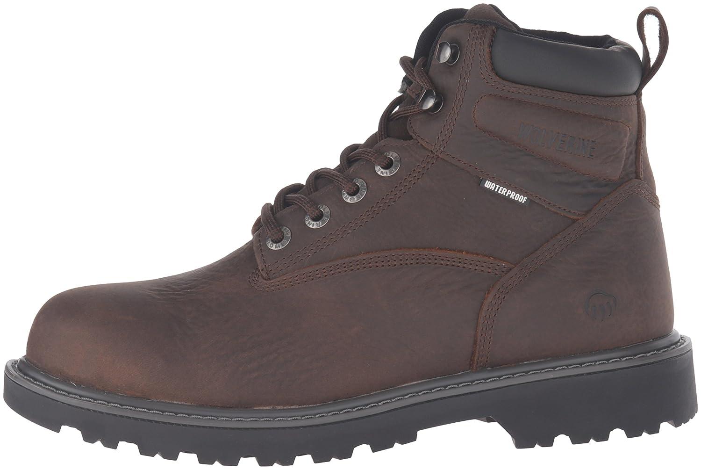 Wolverine Mens Floorhand 6 Inch Waterproof Steel Toe Work Shoe