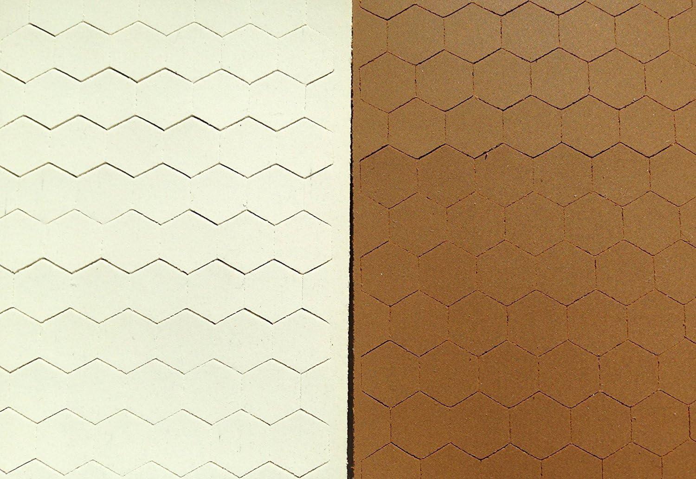 Cabinet Door Bumper Pads, Sheet of 110 (Off-white)