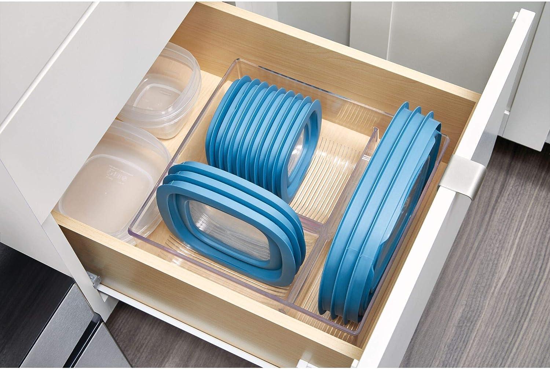 Amazon Com Idesign Plastic Kitchen Binz Food Container Lid
