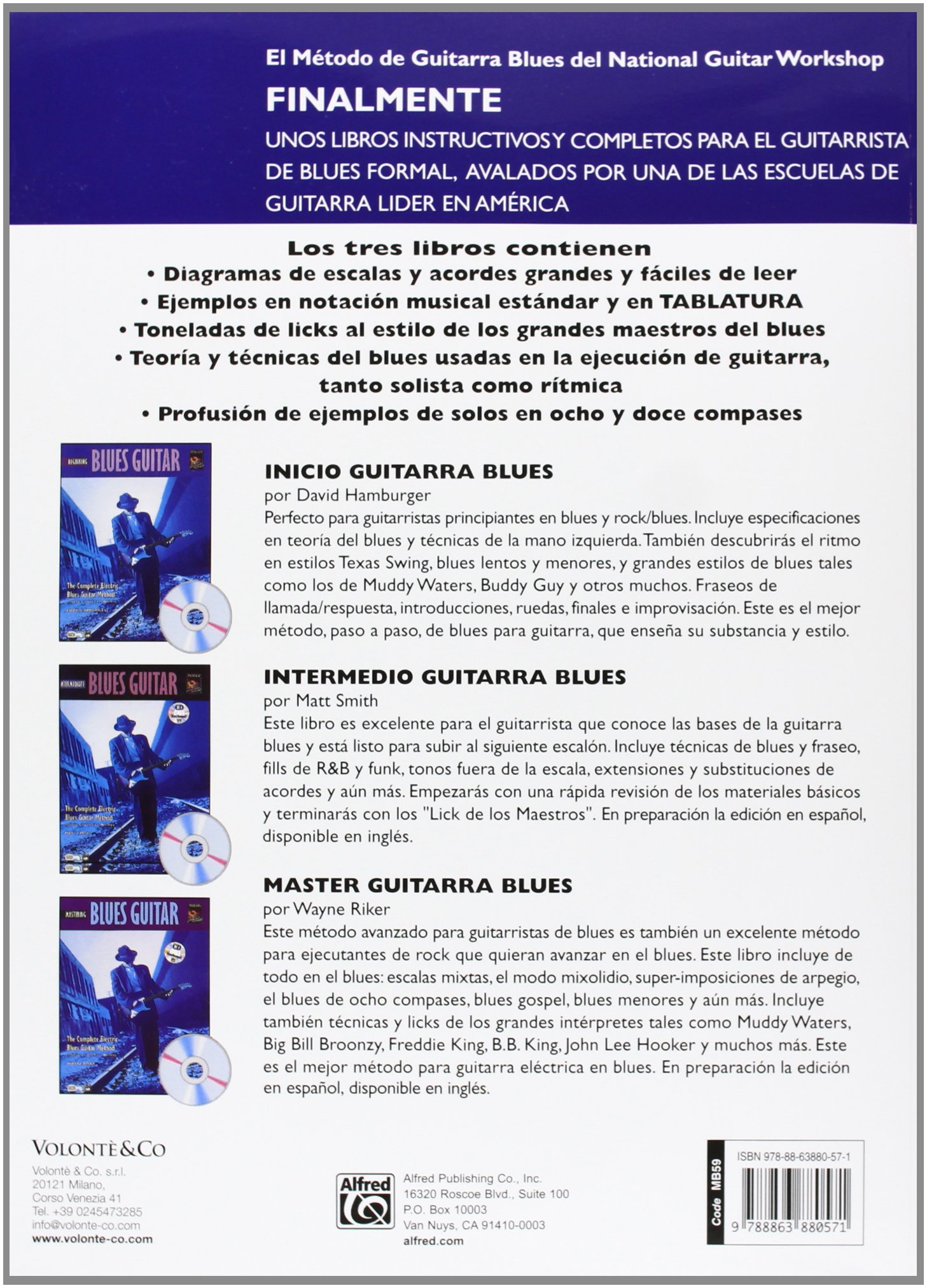 GUITARRA BLUES INICIO + CD (Complete Method): Amazon.es: Hamburger ...