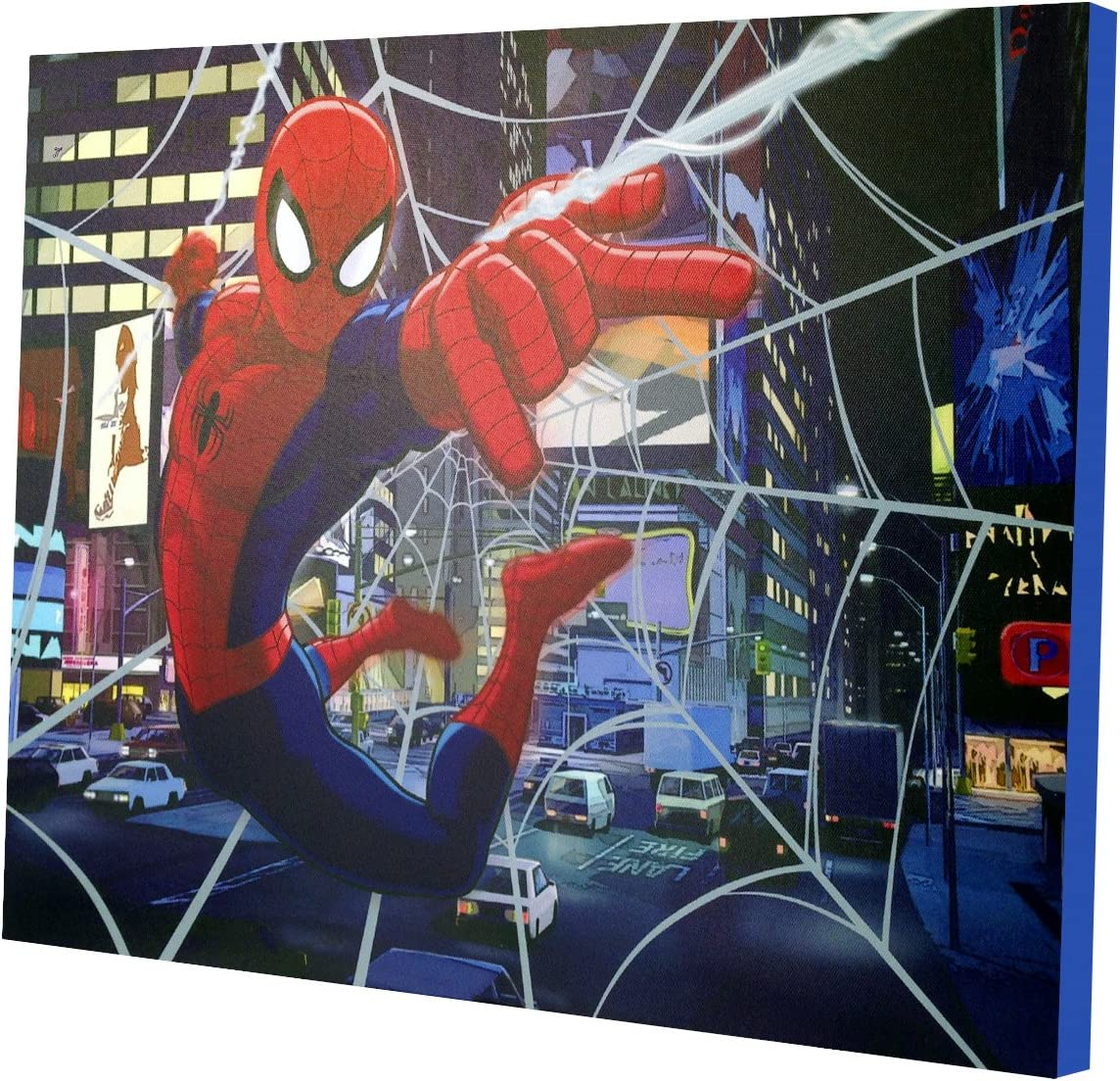 Marvel Spider-Man LED Canvas Wall Art