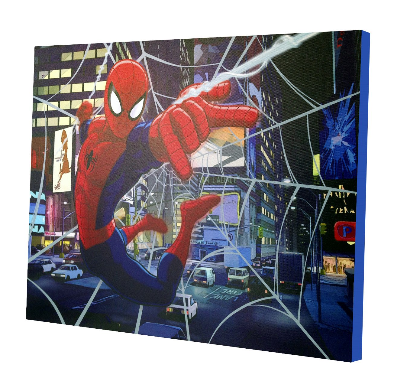 Marvel Spider-Man LED Canvas Wall Art by Marvel
