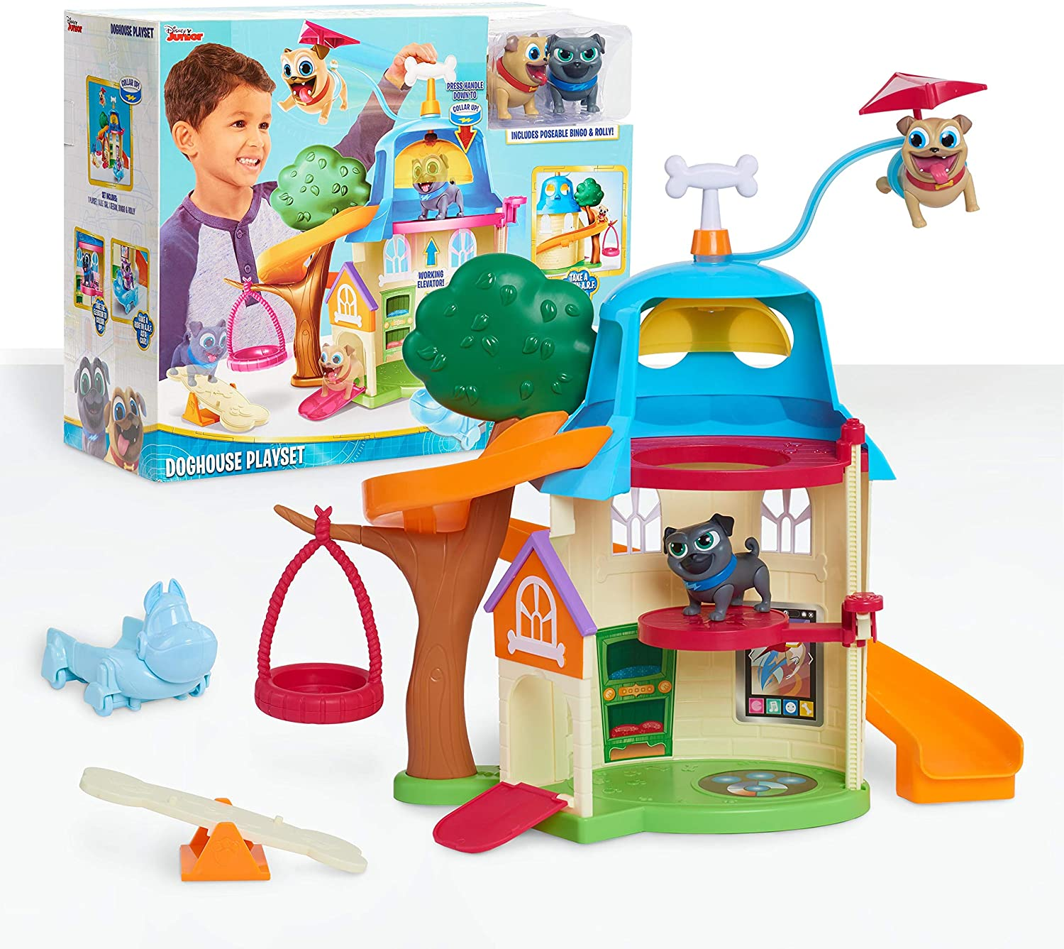 Just-Play-Puppy-Playset-Multicolor