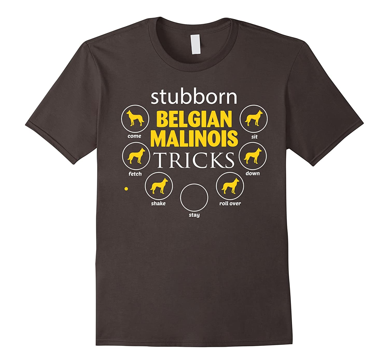 stubborn Belgian Malinois tricks gifts funny t-shirts Dogs