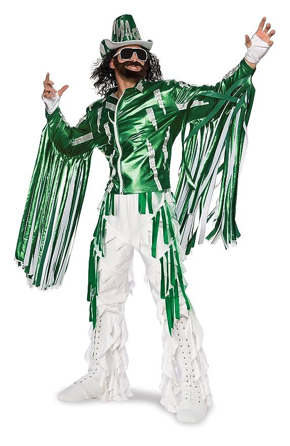 amazoncom rubies costume co mens wwe randy savage grand heritage costume multi large clothing