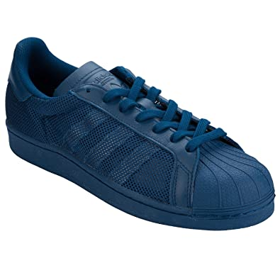 nouveau produit 5b4c9 cb93f adidas Originals Baskets Superstar Triple s Bleu Marine ...