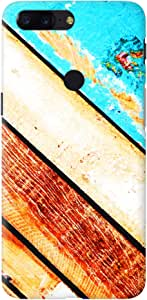 Stylizedd OnePlus 5T Slim Snap Basic Case Cover Matte Finish - Wooden Pier