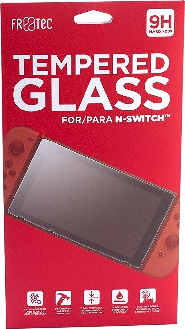 FR·TEC - Protector de pantalla de cristal templado para Nintendo Switch: Amazon.es: Videojuegos