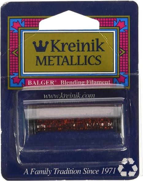 Kreinik Blending Filament 1-Ply 55yd-Gold 3 Pack