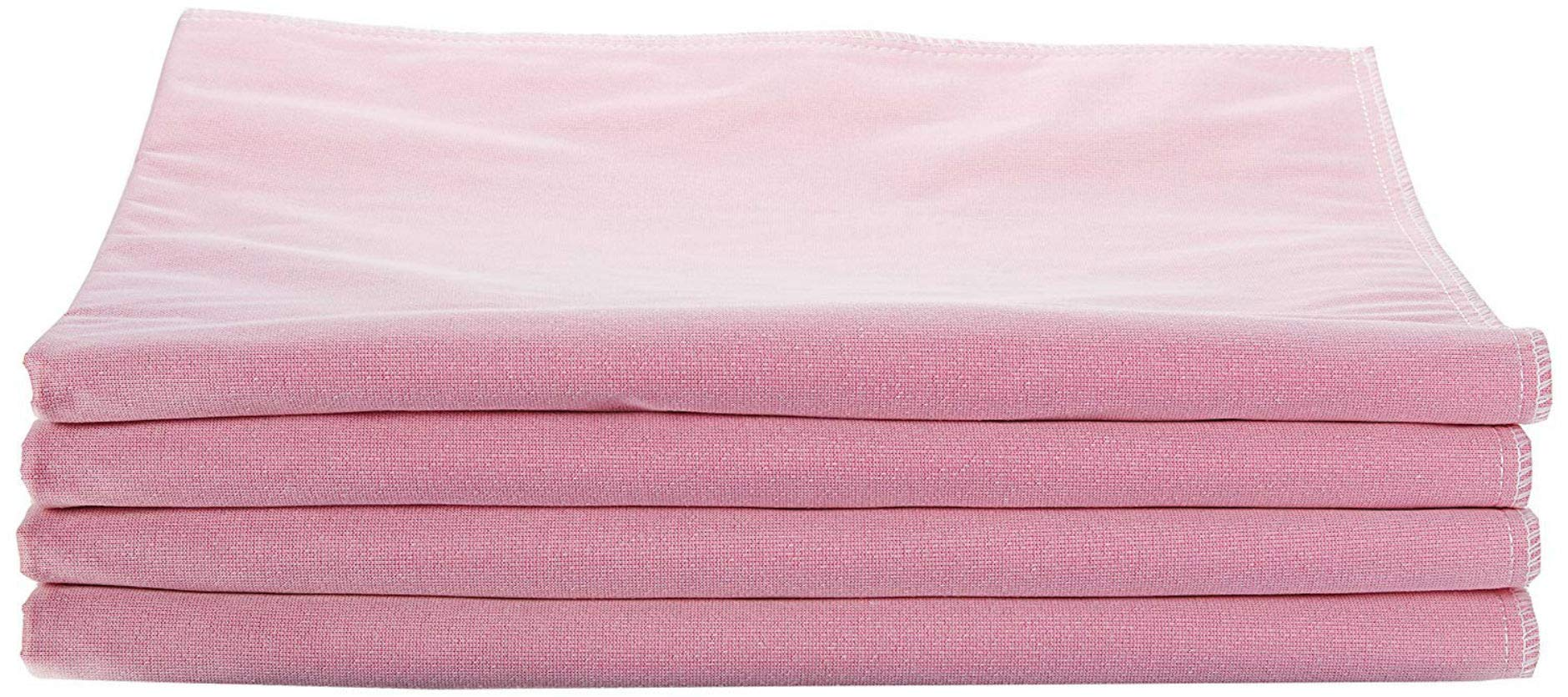 Medline Softnit 300 Washable Underpads, Pack of 4 Large Bed Pads, 34'' x 36'', For use as incontinence bed pads, reusable pet pads, great for dogs, cats, and bunny