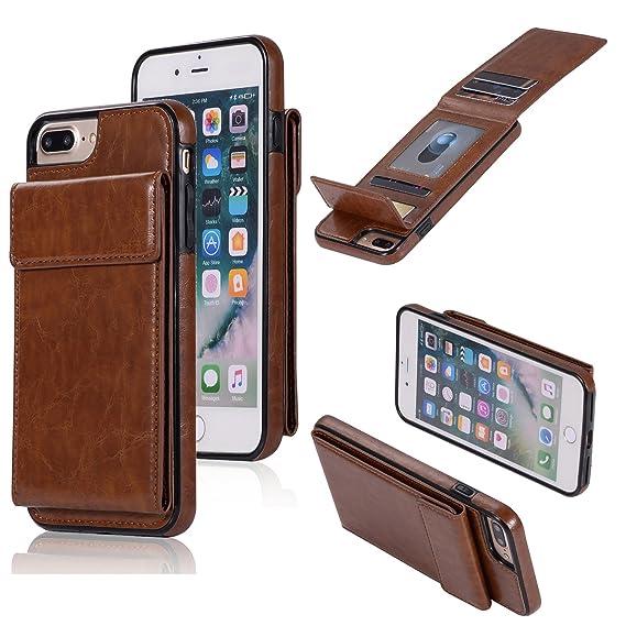 official photos 9f702 c2170 Amazon.com: DAMONDY Wallet Case for iPhone 7 Plus,iPhone 8 Plus Case ...
