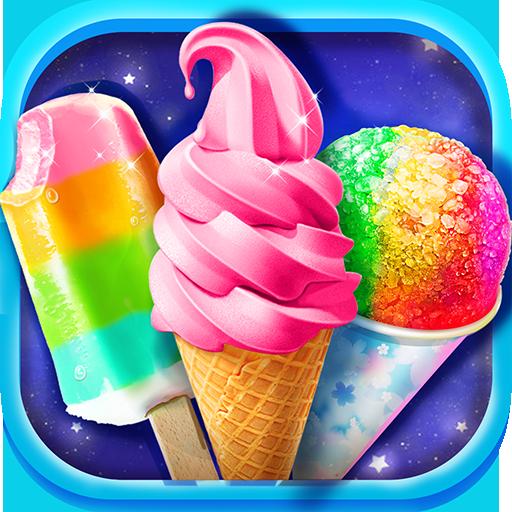 (Summer Rainbow Frozen Foods!)