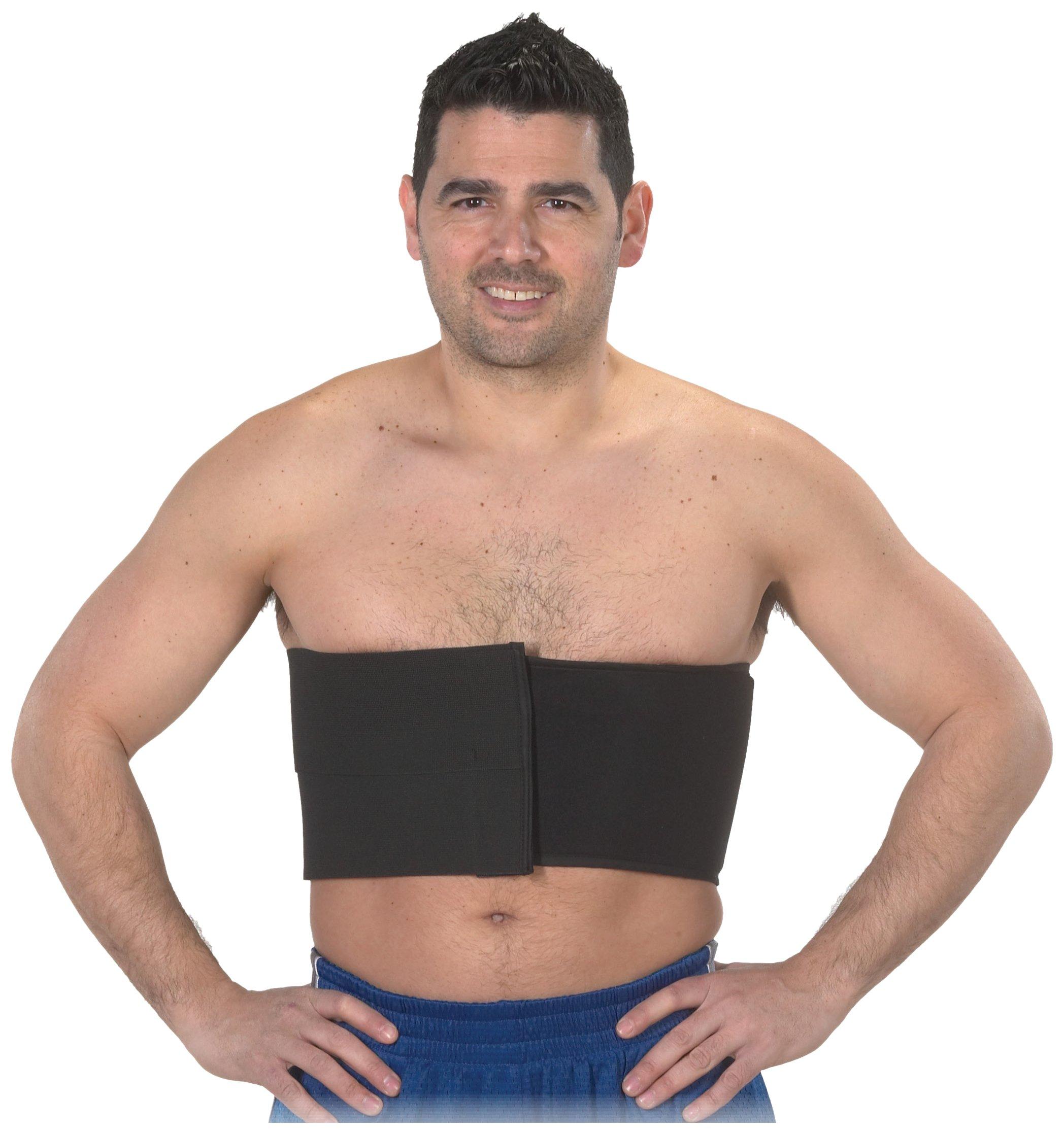 Bilt-Rite Mastex Health 6 Inch Universal Rib Belt, White