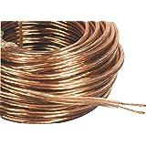 Philex 19806HS20 - Cable de altavoces de 42 hebras (20m), transparente