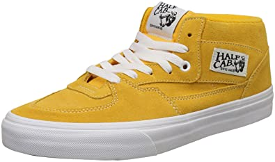 d285ee4c3d48 Vans Unisex Half Cab Leather Sneakers  Buy Online at Low Prices in India -  Amazon.in